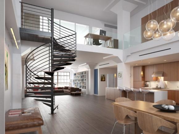 Stepenice u kući mogu biti fantastična dekoracija