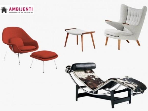 Ikone dizajna 20. veka - stolice koje ne gube svoj šarm (deo I) -