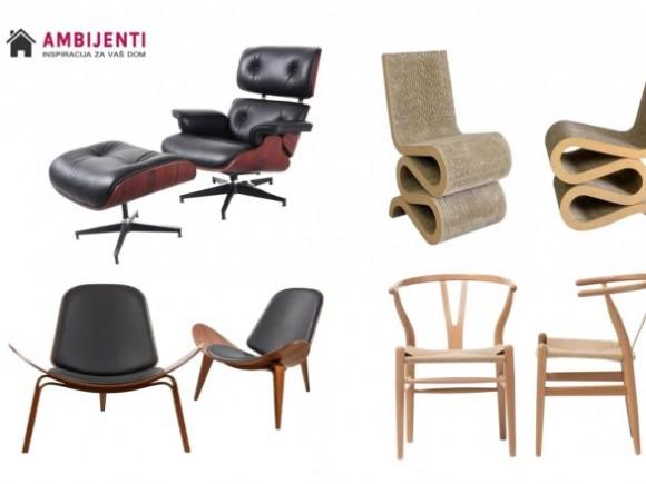Ikone dizajna 20. veka - stolice koje ne gube svoj šarm (deo II) -